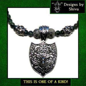 The Huntress Stag Necklace